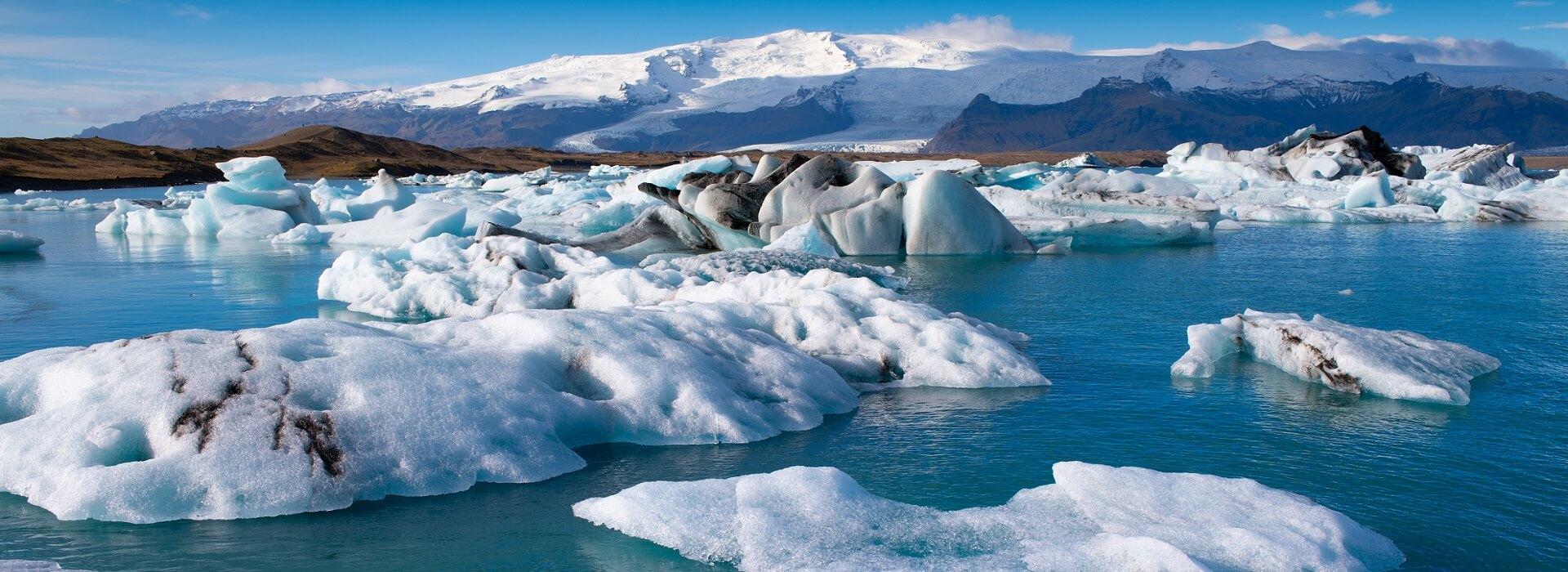 Jokuslarlon glacier lagoon, South Iceland