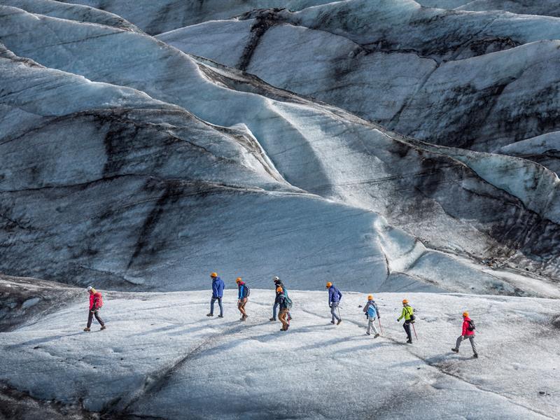 Svinafellsjokull glacier walk