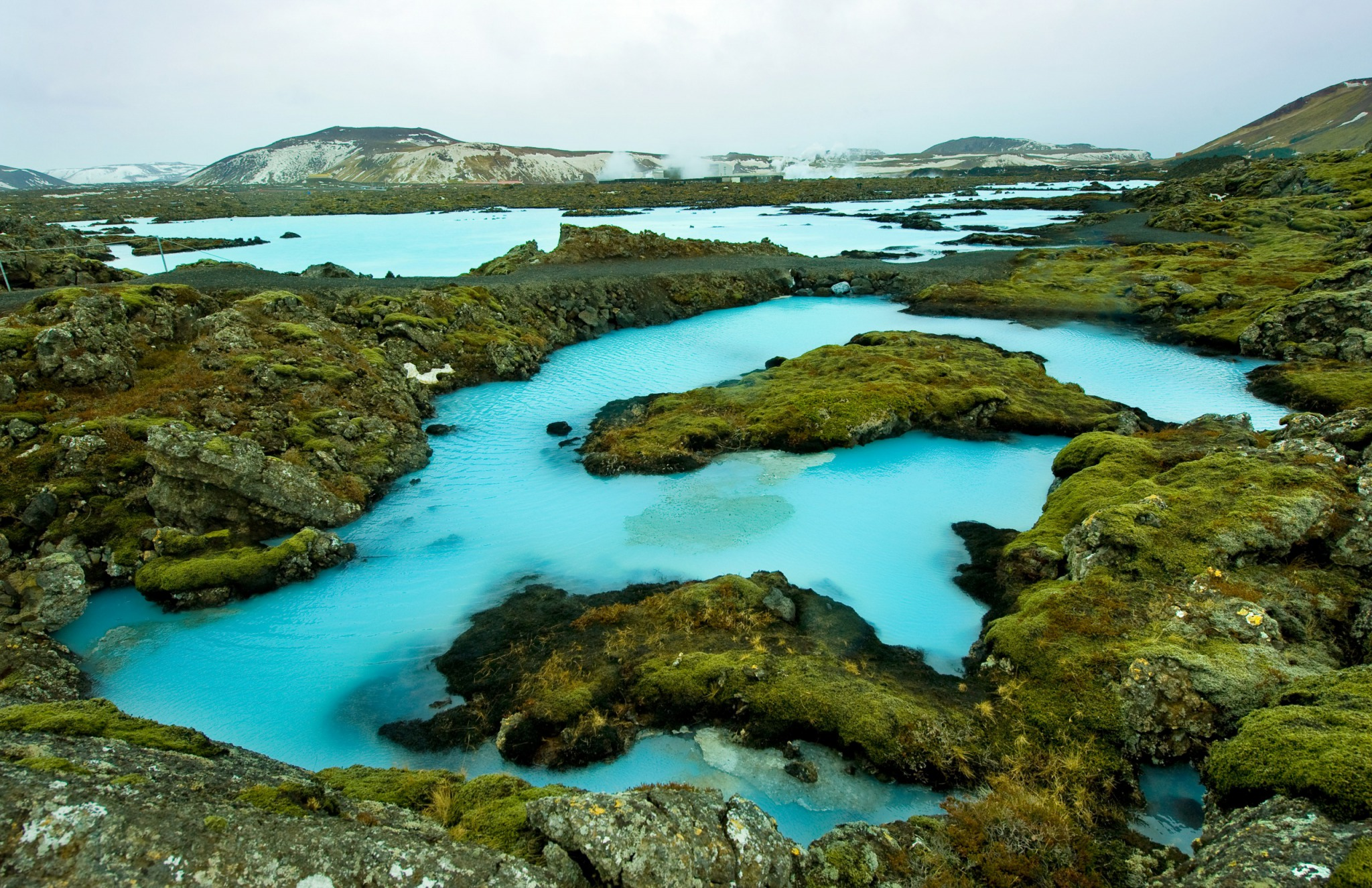 The Blue Lagoon resort of Iceland