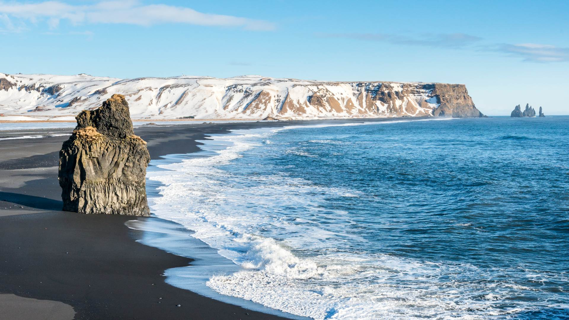 Reynisfjara Black Sand Beach in Iceland: Your Guide
